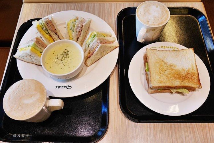 台中早午餐|丹堤咖啡愛買中港店~百元有找的小資族平價早午餐 交通超方便