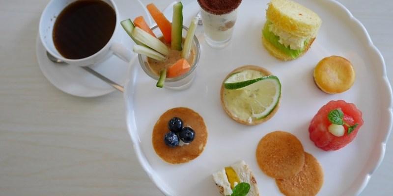 台中下午茶︱梨子咖啡館Pear Coffee中科店~寬敞優雅的親子友善餐廳 美麗豐富的下午茶 白色沙坑小孩最愛