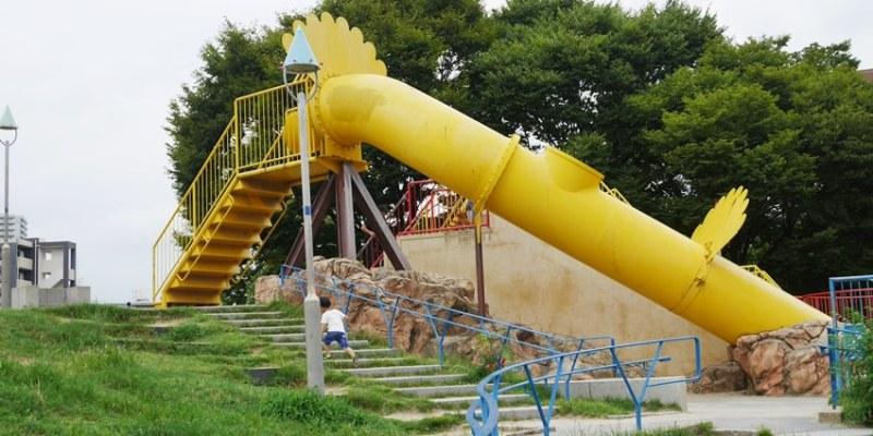 大阪親子遊|扇町公園~大阪兒童樂園旁 小孩放電免費好地方 近天神橋筋商店街