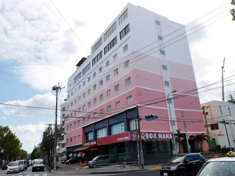 沖繩那霸住宿 Hotel OROX NAHA~近奧武山公園站 和洋式寬敞家庭房 附免費自助式早餐