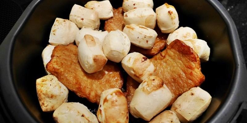 氣炸鍋懶人料理 厚切里肌烤肉片+百搭配角~百頁豆腐(一家戶戶中秋烤肉澎湃組)