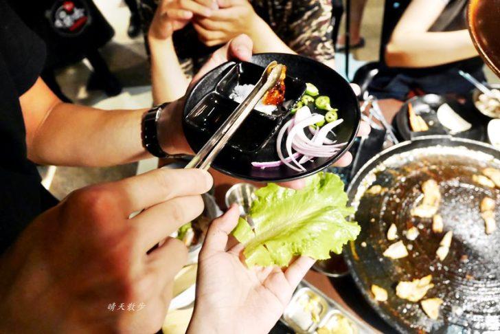 20190917120012 65 - 台中吃到飽 豬對有韓式烤肉吃到飽台中精武店~平價又豐富的韓式火烤兩吃 平日午餐吃到飽299元!