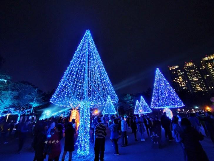 20200213164521 91 - 台中燈會|2020台灣燈會在台中,副展區文心森林公園戽斗星球動物晚上也好拍,還有人造雪喔!