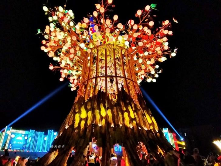 20200220163459 23 - 2020台灣燈會在台中~搭火車去后里逛台中燈會,森林園區好精彩,光之樹、聆聽花開永晝心、無人機秀、森林機械巨蟲秀!