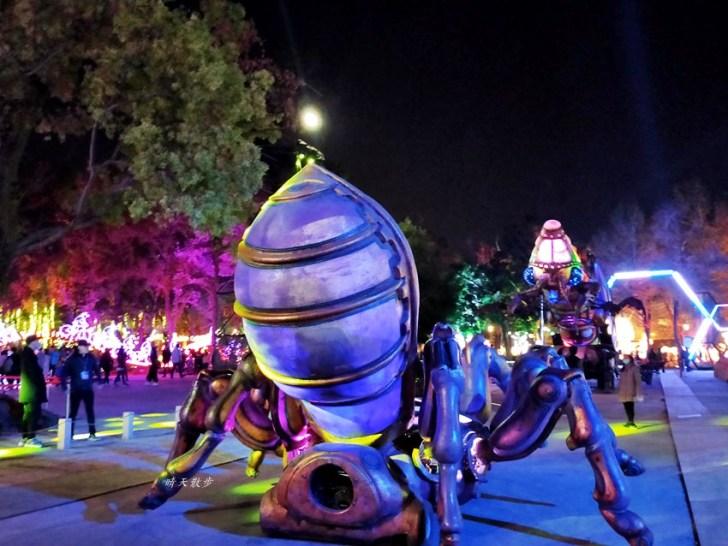 20200220163538 11 - 2020台灣燈會在台中~搭火車去后里逛台中燈會,森林園區好精彩,光之樹、聆聽花開永晝心、無人機秀、森林機械巨蟲秀!
