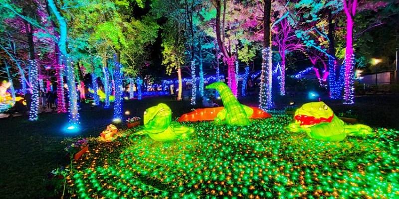 2020台灣燈會在台中~搭火車去后里逛台中燈會,推薦必看后里馬場園區珍寶馬戲團高空特技展演