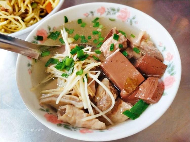 南屯小吃 佛心炒麵爌肉飯~巷弄裡的熱門早餐排隊店,炒麵、爌肉飯、綜合湯,料多味美!