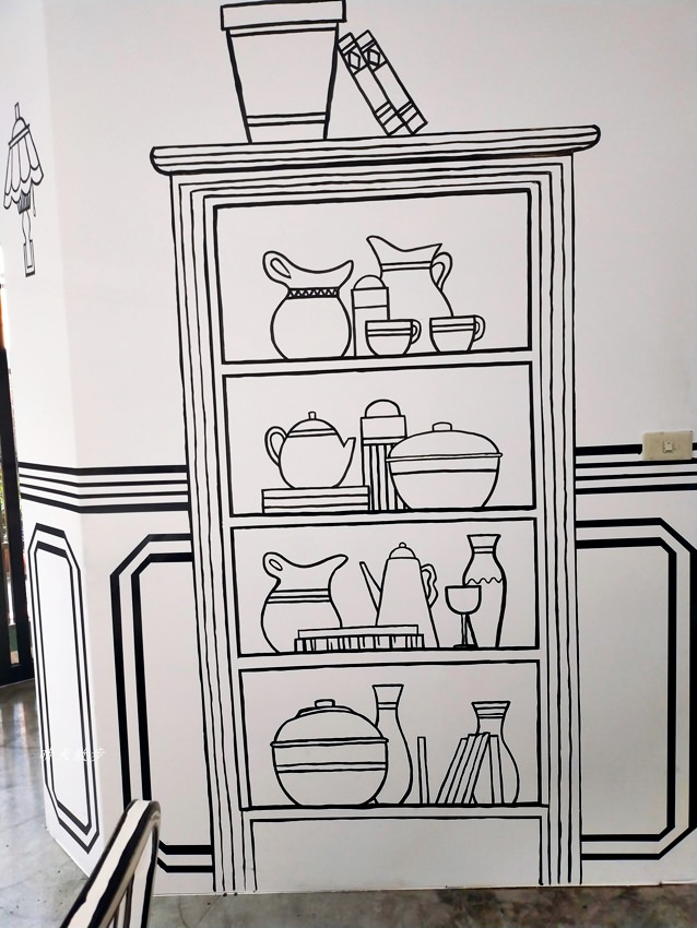 20200331225935 4 - 一起ㄔ雞~黑白漫畫風格的美式炸雞店,飲料、炸雞、炸物、簡餐通通有,還有炸全雞,近審計新村