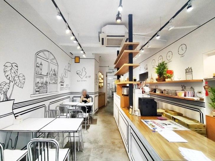 20200331225958 48 - 一起ㄔ雞~黑白漫畫風格的美式炸雞店,飲料、炸雞、炸物、簡餐通通有,還有炸全雞,近審計新村