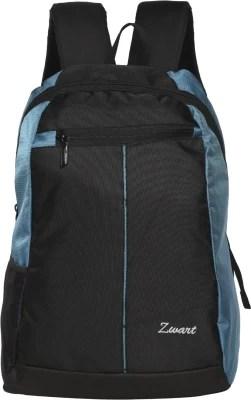 Zwart Basic 18 L Small Laptop Backpack(Blue)