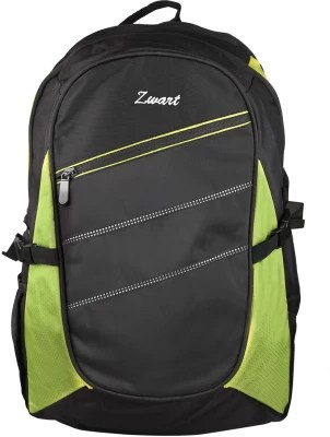 Zwart 116103-G 25 L Backpack(Black, Green)