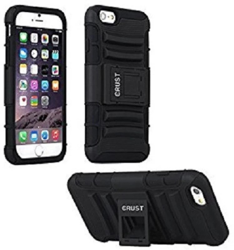 DLAND CASE Back Cover for Apple iPhone 6S Plus(Black)