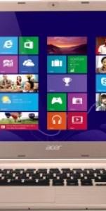 Acer Aspire V5-572 Notebook (3rd Gen Ci3/ 4GB/ 500GB/ Linux) (NX.MA4SI.003)(15.6 inch, Champange Ice, 2 kg)