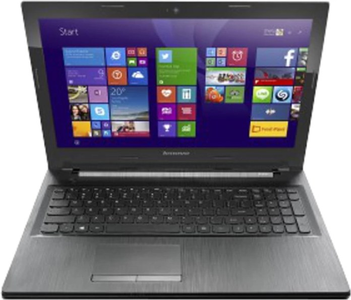 Lenovo G50-80 Core i3 4th Gen - (4 GB/1 TB HDD/Windows 10 Home/2 GB Graphics) G50-80 Notebook(15.6 inch, Black)