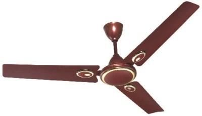 Rudraaksh Corah 3 Blade Ceiling Fan(Red)