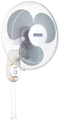 Luminous Wall Kraze 3 Blade Wall Fan(White)