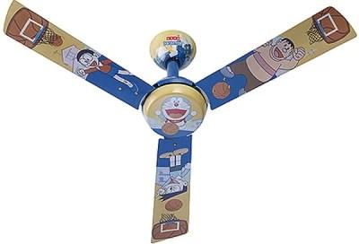 Usha Kids Fan Basketball 3 Blade Ceiling Fan(Blue)
