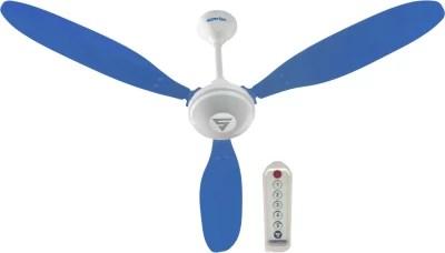 Superfan SuperX1 3 Blade Ceiling Fan(Blue)