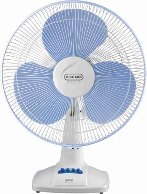 V-Guard Enter TF 400 mm 3 Blade Table Fan(Blue, White)