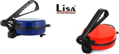 lisa red,blue, Roti/Khakhra Maker(blue,red)