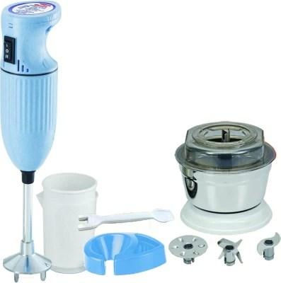 Desire Twisterdelux 225 W Hand Blender(Blue, White)