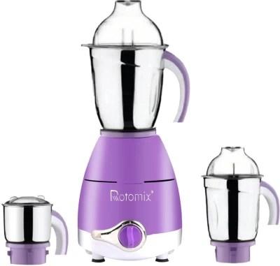 Rotomix Latest Upgrade LPMG17_15 750 W Mixer Grinder(Lavender, 3 Jars)