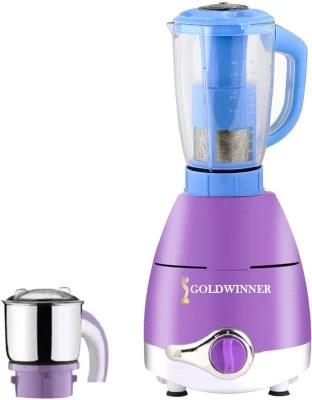Goldwinner ABS Plastic LPMG17_145 750 W Juicer Mixer Grinder(Lavender, 2 Jars)