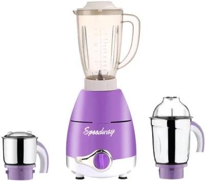 speedway ABS Plastic LPMG17_333 750 W Juicer Mixer Grinder(Lavender, 3 Jars)