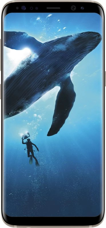 SAMSUNG Galaxy S8 (Maple Gold, 64 GB)(4 GB RAM)