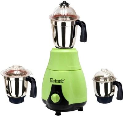 Rotomix New_MG16-314MA 1000 W Mixer Grinder(Green, 3 Jars)