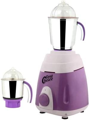 First Choice MG16-260 600 W Mixer Grinder(Purple, 2 Jars)