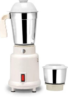 Suntreck mini 350 W Mixer Grinder(White, 2 Jars)
