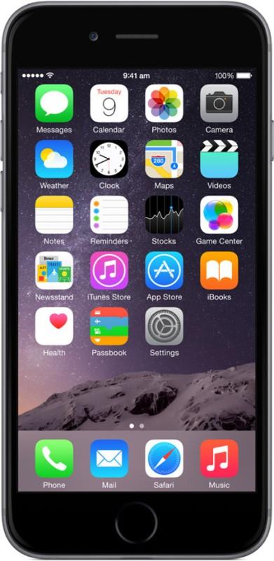 Apple iPhone 6 (Grey, 128 GB)(1 GB RAM)