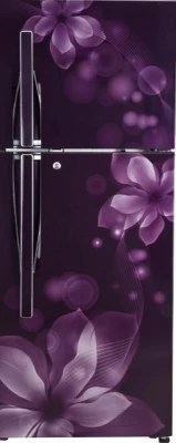 LG 308 L Frost Free Double Door Refrigerator(GL-I322RPOL, Purple Orchid)