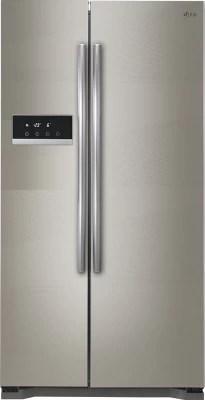 LG 581 L Frost Free Side by Side Refrigerator(GC-B207GAQV, Shiny Steel)