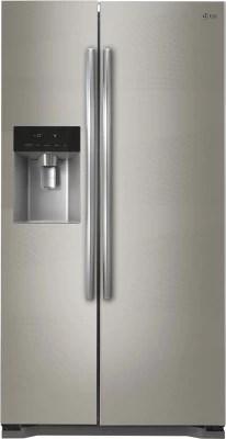 LG 567 L Frost Free Side by Side Refrigerator(GC-L207GAQV, Artline)