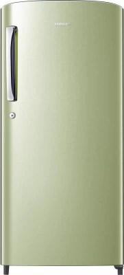 SAMSUNG 192 L Direct Cool Single Door Refrigerator(RR19H1144NT, Gold Emerald Green)