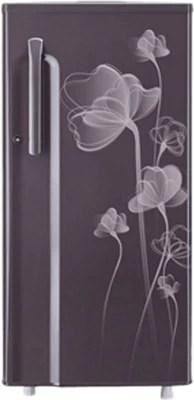 LG 190 L Direct Cool Single Door Refrigerator(GL-B205KGHP, Graphite Heart)
