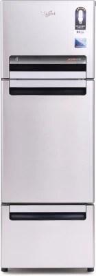 Whirlpool 240 L Frost Free Triple Door Refrigerator(FP 263D PROTTON ROY, Alpha Steel, 2016)