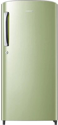 SAMSUNG 192 L Direct Cool Single Door Refrigerator(RR19H1784NT, Emerald Green)