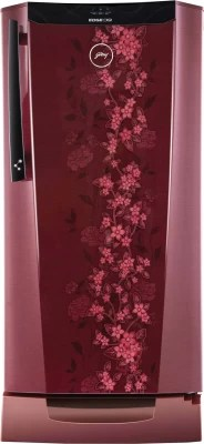 Godrej 212 L Direct Cool Single Door Refrigerator(RH EdgeDigi 212 PDS 6.2, Wine Spring)
