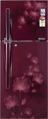 LG 255 L Frost Free Double Door Refrigerator(GL-F282RSFL, Scarlet Florid)