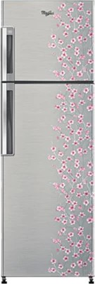 Whirlpool 265 L Frost Free Double Door Refrigerator(NEO FR278 ROY PLUS 3S, Silver Bliss)