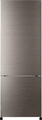 Haier 345 L Frost Free Double Door Refrigerator(HRB-3653BS-R, Brushed Grey)