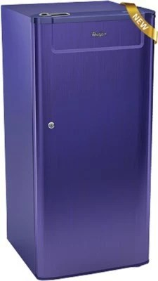 Whirlpool 190 L Direct Cool Single Door Refrigerator(205 GENIUS CLS PLUS 4S, Sapphire Titanium)