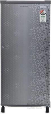 Kelvinator 190 L Direct Cool Single Door Refrigerator(KW203EFYRG, Geometry Grey)