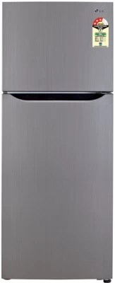 LG 255 L Frost Free Double Door Refrigerator(GL-B282SMCL, Neo Inox)