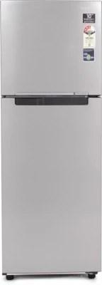 SAMSUNG 251 L Frost Free Double Door Refrigerator(RT28K3083SP, Platinum Inox)