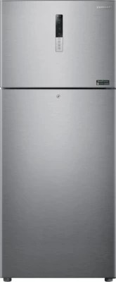 SAMSUNG 446 L Frost Free Double Door Refrigerator(RT45H5809SL, Clean Steel)