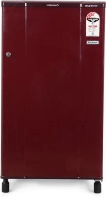 Videocon 150 L Direct Cool Single Door Refrigerator(VA163BBR-FDA, Burgundy Red)
